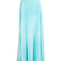 Fendi Pleated Chiffon Two Tone Maxi Skirt 6