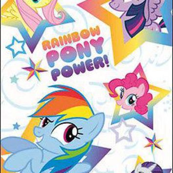 """My Little Pony Rainbow Power Dash Group Poster Picture Art Print 22""""x34 OFFICIAL"""
