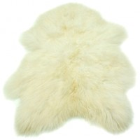 Ivory Icelandic Sheepskin (Small)