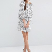 Stevie May The Cloudy Day Mini Dress at asos.com