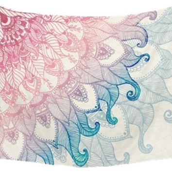 Pastel Paisley Tapestry 60x80in