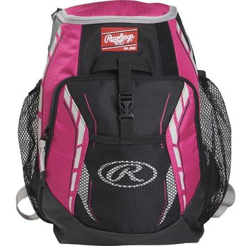 Rawlings Players Backpack - Neon Pink