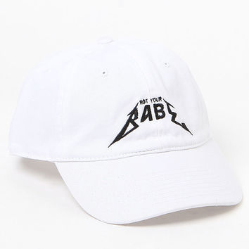 LA Hearts Not Your Babe Dad Hat at PacSun.com