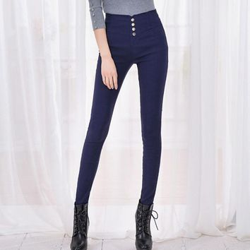 Elegant Wear Slim Stretch Pencil Pants