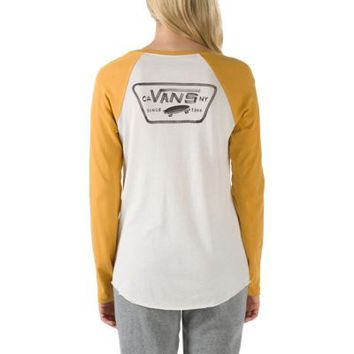 Authentic Rags Baseball Tee | Shop Womens Tees at Vans