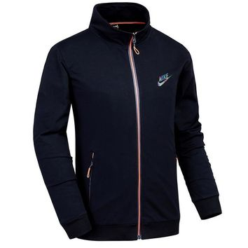 Nike Men Fashion Casual Cardigan Jacket Coat-10