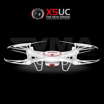 Syma X5UW X5UC RC Drone with WiFi Camera HD Real-time Transmission FPV Quadcopter 2.4G 4CH Helicopter Dron Quadrocopter