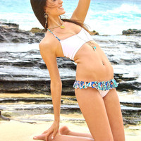 Kiahuna Ruffle Brazilian Bikini Bottoms - Create Your Own