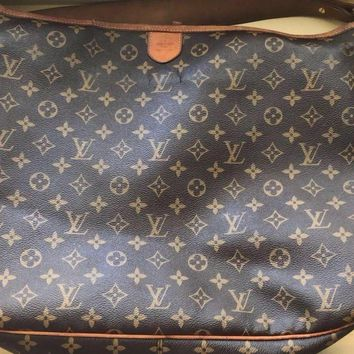 Tagre™ 100% Authentic Louis Vuitton Delightful MM Monogram Hobo Shoulder Bag