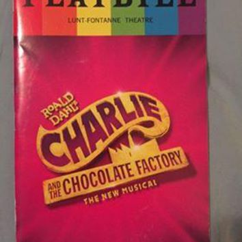 Charlie And The Chocolate Factory Pride Playbill