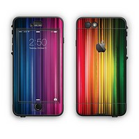 The Straight Abstract Vector Color-Strands Apple iPhone 6 Plus LifeProof Nuud Case Skin Set