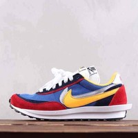 HCXX N300 Nike Air Vapormax FX LVD Daybreak Fashion Running Shoes Blue Red Yellow