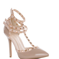 Unstoppable Pumps in Nude