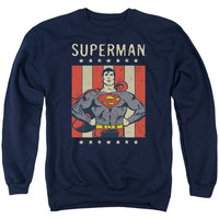 Superman Retro Liberty Sweatshirt