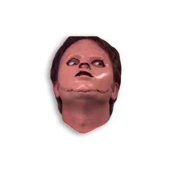 Dwight With A Mask Magnet