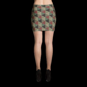 New Camo Mini Skirt