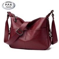 New Fashion Joker Women Single Shoulder Bag Luxury Brand PU Leather Lady Bag European American Female Bag Crossbody Pack A432