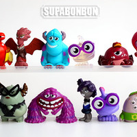 1 pcs / Decoden / Pixar / Cute / Decoden / Sullivan / Monster University / Carton / Miniature / Figurine / 2.5-3.5CM / DS313