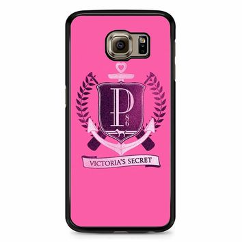 Victoria Secret Logo Samsung Galaxy S6 Case