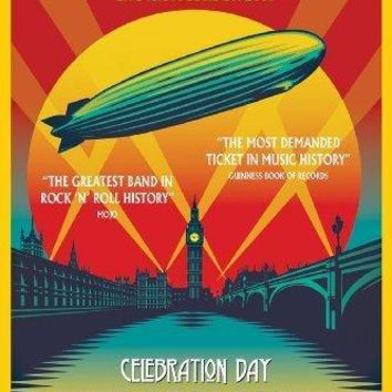 Led Zeppelin Celebration Day 11inx17in poster