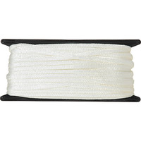 COGHLAN'S White Poly Cord - 50 feet