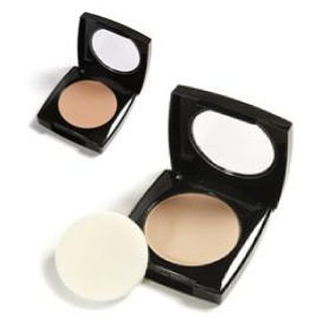 Danyel' Soft Beige Mini Compact and Translucent Powder
