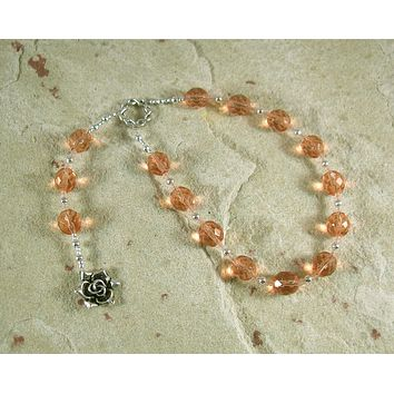 Venus Pocket Prayer Beads: Roman Goddess of Love, Beauty, Fertility and Gardens