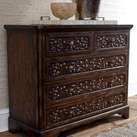 Floral-Carved Chest - Horchow