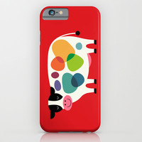 Awesome Cow iPhone & iPod Case by Andy Westface