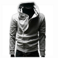 Winter Hoodies Zippers Hats Korean Slim Men Men's Fashion Tops Jacket [6528872515]