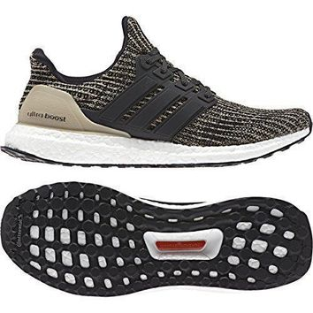 adidas Ultraboost Mens In Core Black/Raw Gold by
