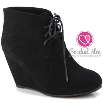 Sally Wedge Bootie
