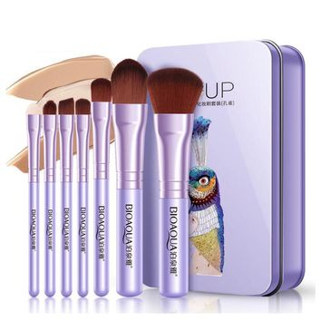Fine Cosmetic Brush Set Makeup Brush Professional Face Beauty Tools Sponge Eyebrow Lip Eyeshadow Blusher Foundation Brushes Set