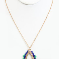 Blue Marrakech Necklace - Necklace