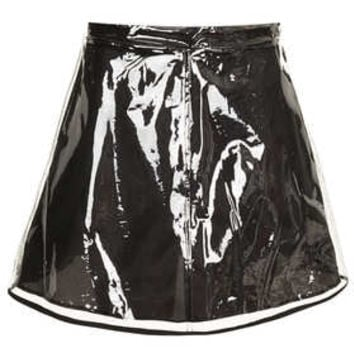 Clear Plastic Skirt - Skirts  - Clothing
