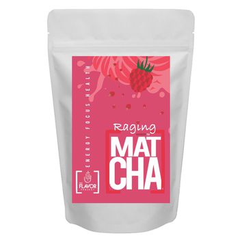 Raspberry Matcha Green Tea Powder