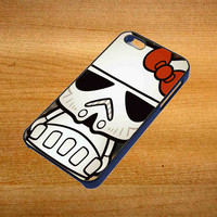 Hello Kitty Stormtrooper For iPhone 4 / 4S Case *76*