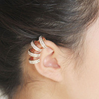 Multi-Hoop Ear Cuff