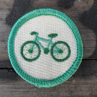 Bike 'Cycling' Scout-Style Merit Badge