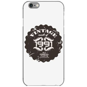 vintage made of 1991 all original parts iPhone 6/6s Case