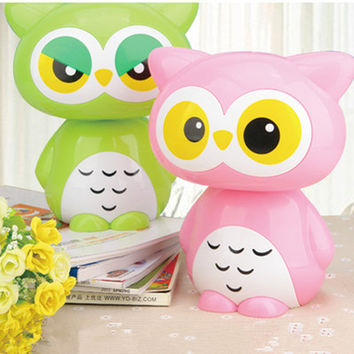 Cartoon Owl Led Night Light AC85-265V childrens Toys gift Lamp for Kids' Bedroom Room Decoration Night Light powered by USB