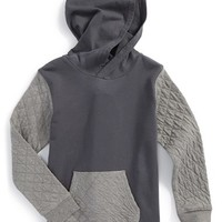 Boy's Tucker + Tate 'Outta Sight' Quilted Hoodie,