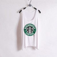 Starbucks Logo Tank Top from ShopWunderlust