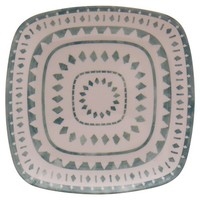 Threshold™ Geometric Square Appetizer Plates Set of 4