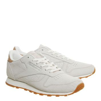 **Cl Leather Clean Trainers by Reebok - New In