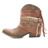 FREEBIRD by Steven Mezcal Wraparound Booties | SHOPBOP