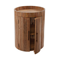 Lazy Susan Drum Bar Table - 985-011