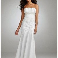 Buy Ruched Strapless Gown with Draped Bodice and Skirt Style 231M13270  , from  for $139.76 only in Fashionwithme.com.