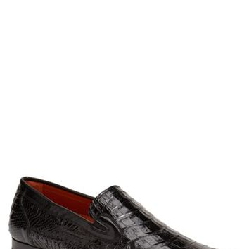 Men's Mezlan 'Morellino' Crocodile Leather Loafer