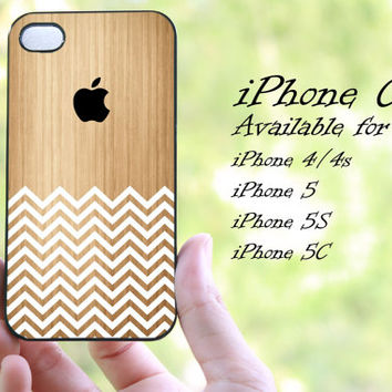 chevron wood apple logo design iphone case for iphone 4 case, iphone 4s case,iphone 5 case, iphone 5s case, iphone 5c case